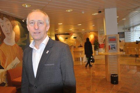Banksjef Jan Kåre Eie i Flekkefjord Sparebank