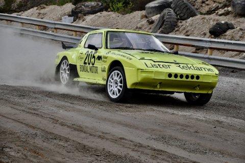 Egeland Motorsport er godt i gang med ny sesong med norgesmesterskap i rallycross. Foto: Anne Beth Mål Arntzen
