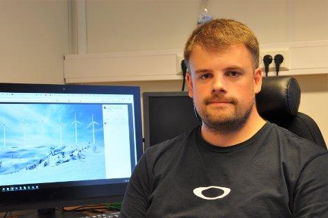 ENGASJERT: Rolf André Grimsby bruker Sirdalsnaturen aktivt, og er veldig engasjert i vindkraftsaken. Han håper mange kommer på fokemøtet.