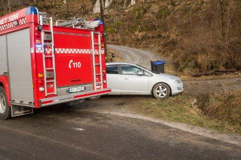 UTFOR: En kvinne i 30-årene er sendt til sykehus etter utforkjøring.