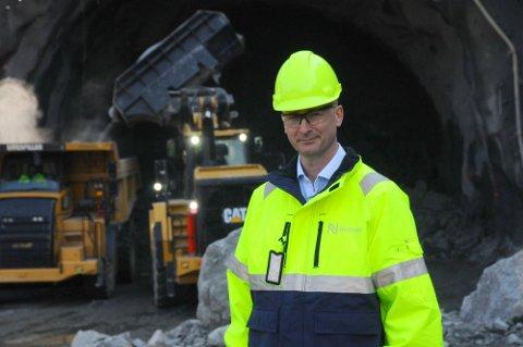 DIREKTØREN: Asbjørn Heieraas er assisterende direktør og leder for plan og prosjektutvikling for Nye Veier.