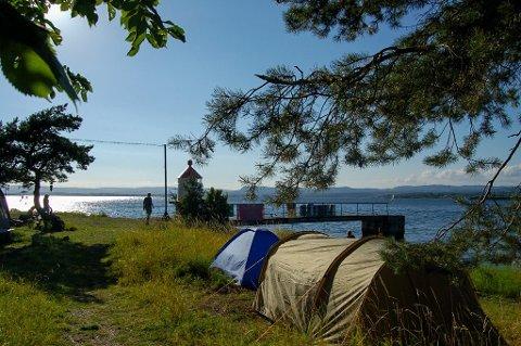 TELTE PÅ LANGØYENE I SOMMER? Langøyene åpner igjen for publikum 1. juli. Da blir det også mulig å campe på den nordlige delen av øya.