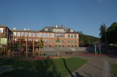 RAN: Ranet skjedde på Kjelsås skole. Foto: Karina Torberntsson