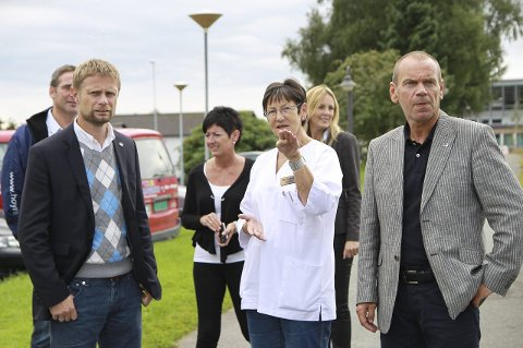 GODT RYKTE: Bent Høie er mellom dei som tidlegare har latt seg imponera over eldreomsorgstilbodet i Meland kommune.