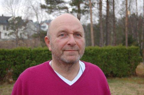 Gründer og mangeårig Frp-politikar i Meland Sigmund Larsen er død, 60 år gammal. Arkivfoto