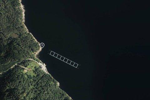 Her i Rekeviki i Fensfjorden i Lindås får no Blom fiskeoppdrett lov til å dobla mengda med fisk. Anlegget skal ikkje verta større.