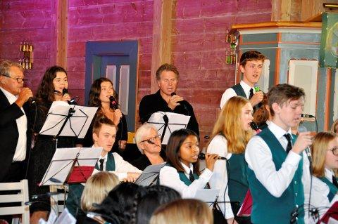 Hordabø skulemusikklag med gjestar leverer stadig nye prosjekt innanfor ulike sjangrar. Denne gongen med gospel som tema.