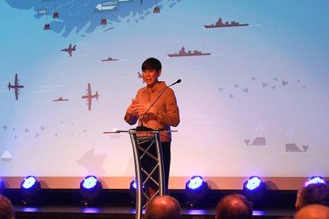 Forsvarsmininster Ine Eriksen Søreide på Agenda Nord-Norge.