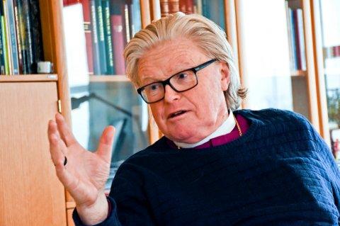 Biskop Tor Berger Jørgensen fratrer som biskop i 2015.