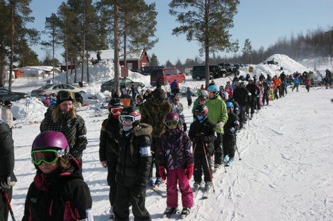 Alpinanlegget i Jäckvik.