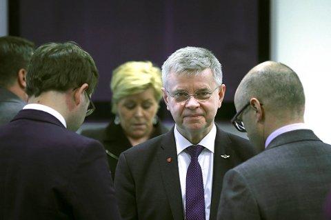 – Fra å ha ingenting, har vi nå fått fullt gjennomslag. Det er helt sykt at dette skjer, sier en opprømt ordfører i Bodø Ole H. Hjartøy. Foto: Tom Melby