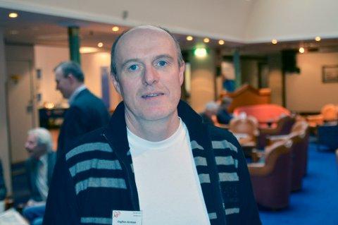 Dagfinn Arntsen er listetopp og eneste kumulerte på Værøy KrF sin liste til kommunevalget.