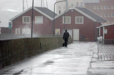 Bodø er en av de byene i Salten som kan oppleve store nedbørmengder i helgen. Høsten er i anmarsj, skal vi tro metorologene.
