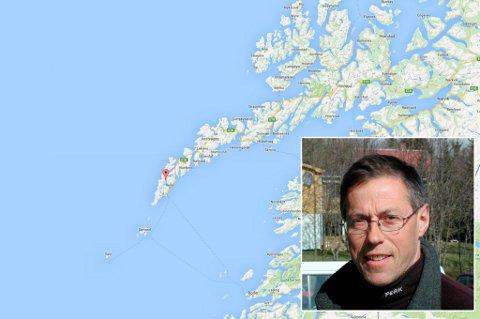 Innfelt: Svenn-Arne Gundersen. Nestleder i Lofoten turlag.
