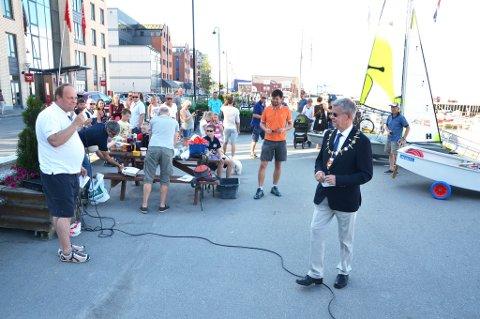 Ordfører Ole Hjartøy åpnet Seilingens dag i Bodø lørdag.