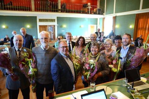 Disse folkevalgte hadde sitt siste møte i bystyret i Bodø torsdag.