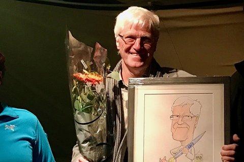 Avisa Nordland-journalist Johan Votvik ble lørdag kveld hedret med prisen til Helgeland og Salten journalistlag.