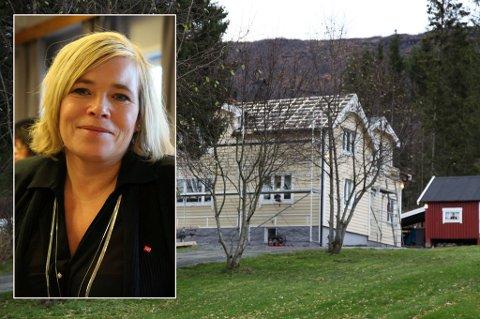 Linda Wangen Salemonsen sitt hus. nytt tak