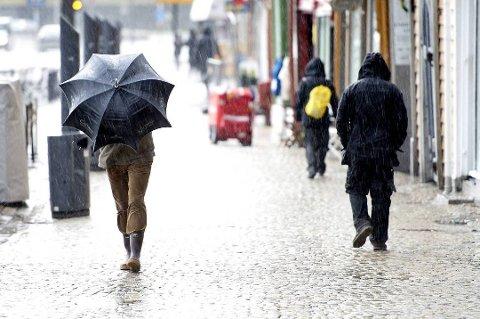 Til helga vil det bli svært surt i Salten og det er ventet store mengder med nedbør.