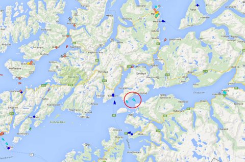 Kystvaktskipet Nordkapp er med i letingen.