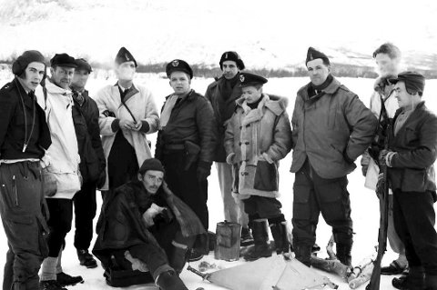 1 Skutt og arrestert: Etter en dramatisk jakt i februar 1951 ble fjelldesperadoen til slutt tatt hånd om av norsk og svensk politi. Alle foto: Terje Winther