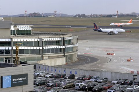 General view of the Zaventem's international airport near Brussels in this February 20, 2013 file photo. REUTERS/Eric Vidal/Files