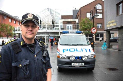 politiførstebetjent Vegard Kristiansen, Hovedverneombud Nordland politidistrikt