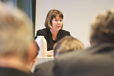 Ser alvoret: Fylkesordfører i Nordland, Sonja Steen mener det er viktig å ta slike henvendelser på alvor.