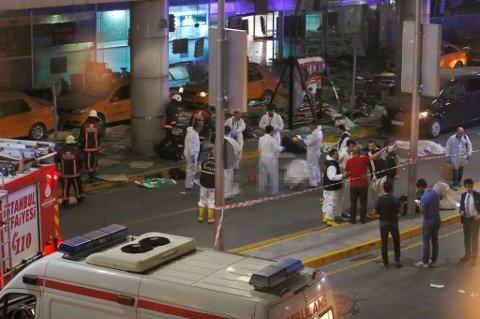 Minst 36 personer ble drept i terrorangrepet.