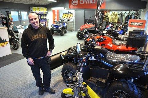 I januar 2014 åpnet Morten Borg ny butikk og verksted. Nå er Bodø motorsenter konkurs.