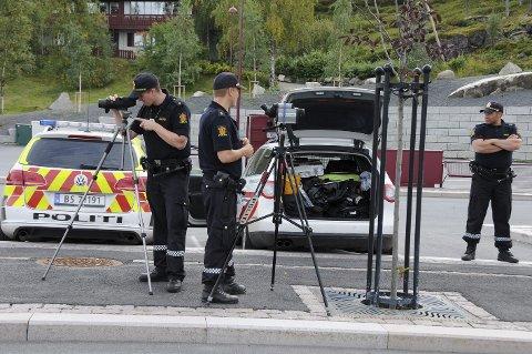 Mye politi: Det vil bli mye politifolk å se på Innhavet i framtiden dersom planene om å etablere et felles lensmannskontor der for Steigen og Hamarøy, trolig også Tysfjords vestside, blir gjennomført.