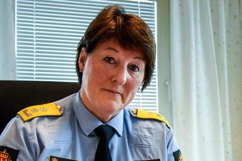 Politimester Tone Vangen