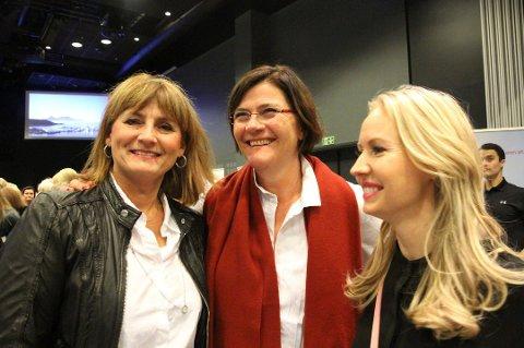 Merete Almbakk, Siv Christensen og Kristine Engan Imingen er tre av fire initativtakere til BYjentan. Til helga går deres tredje arrangement av stabelen.