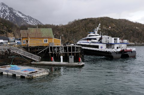 Beholdes: Kystfolket har blitt hørt. Nordlandsekspressen nordover fra Bodø til Lofoten skal fortsette å gå.