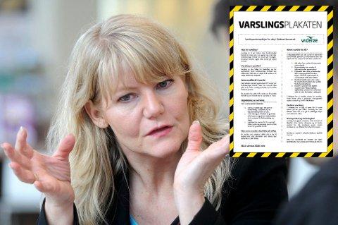 I Widerøes interne rutiner for varsling, heter det at Widerøe ønsker å etablere en bedriftskultur der det er aksept for å ta opp bekymringer og å reise kritikk.