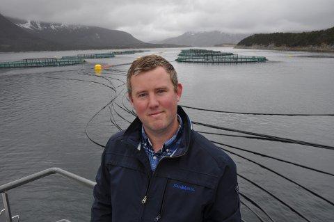 Styreleder Morten Lorentsen kan konstatere at forsking er populært blant oppdrettsselskapene. Det merker Gifas på økt oppdragsmengde.