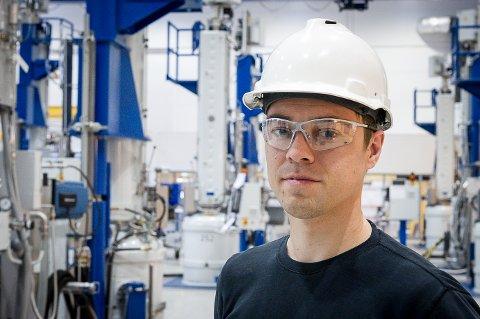 Ny toppsjef: Børge Selstad (37) er ansatt som ny administrerende direktør i Meløy Energi AS.