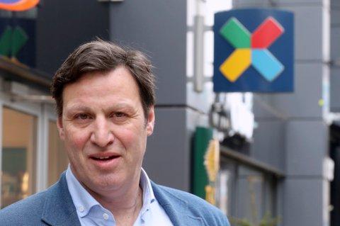 Idrettspresident Tom Tvedt.