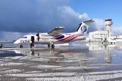 Fly Viking har siden oppstarten i slutten av mars i år hatt cirka 2000 passasjerer.