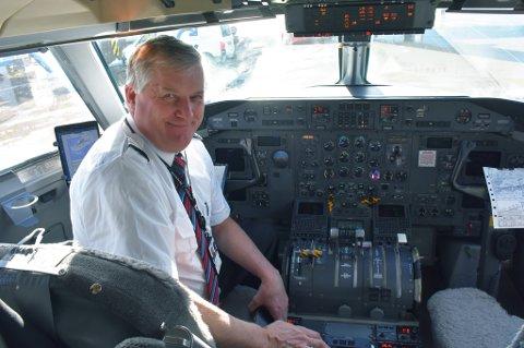 Ola Giæver og Fly Viking satser videre med nye fly og nye ruter.