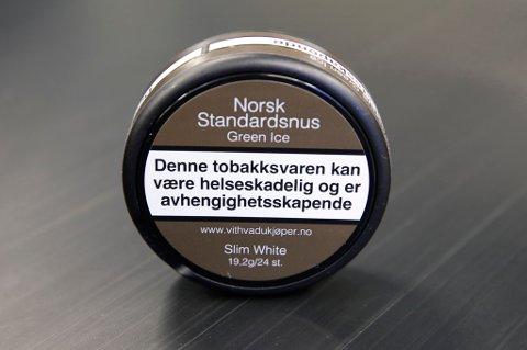 Oslo  20170627. Snus og sigaretter kommer i nøytral forpakning fra første juli. Foto: Terje Bendiksby / NTB scanpix