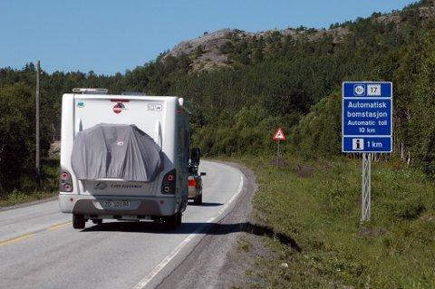 Illustrasjonsbilde: Politikerne i kommunestyret i Fauske kommune har behandlet saken om bompengeavgift for nullutslippskjøretøy.