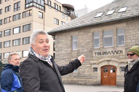 Eier av Tollboden, Tord Kolstad håper Tollboden kan få en virksomhet som er publikumsrettet.