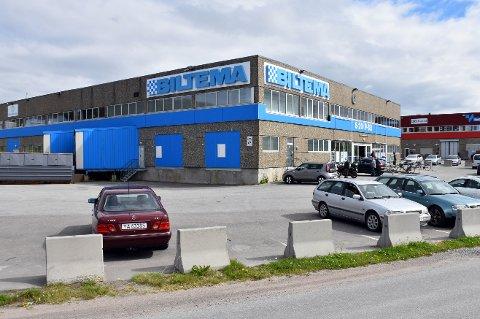 KAN RAMMES: Biltema i Bodø kan rammes av en eventuell streik.