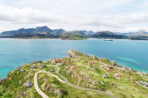 Saltdalshytta skal levere 25 hytter i dette feltet.