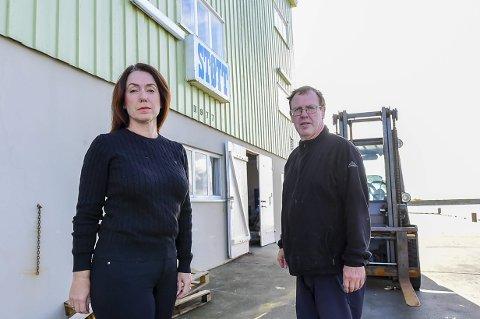 Eva Andersen og Svenn Sørensen fortviler etter at det først mistet ferga, så lørdagsanløpene med lokalruten og nå også  Nex 1.