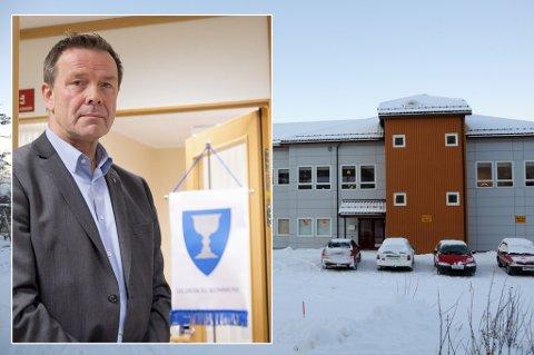 Inndyr skole: Rådmann Helge Akerhaugen i Gildeskål sier at de tar slike hendelser på alvor.