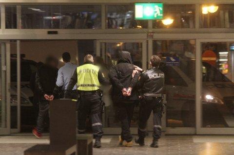 25-åringen ble pågrepet i Glasshuset kort tid etter ransforsøket.