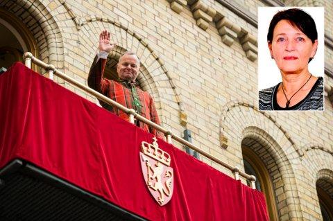 Stortingspresident Olemic Thommessen (H) opprettholder den særnorske tradisjonen med å ta ansvar - ved å bli sittende.