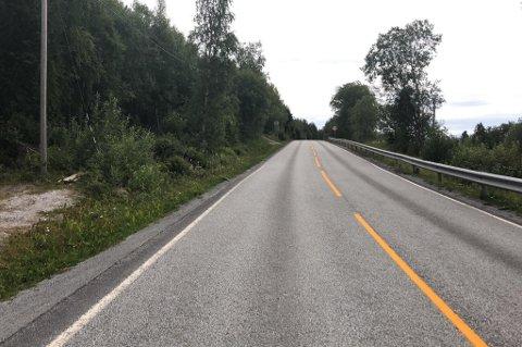 Riksvei 80: På Kistrand har det vært flere ulykker de siste årene. Det er på denne strekningen på Riksvei 80 at det kan bli gjort utbedringer for milliarder de neste årene.